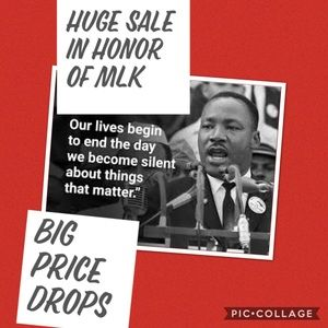 1 MORE DAY LEFT! HUGE Sale in honor of MLK!